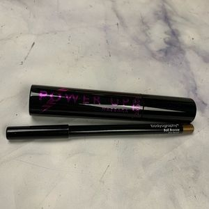 BUTTER LONDON mascara / BODYOGRAPHY eyeliner